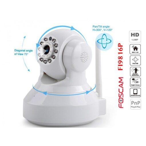 Foscam FI9816P Λευκή