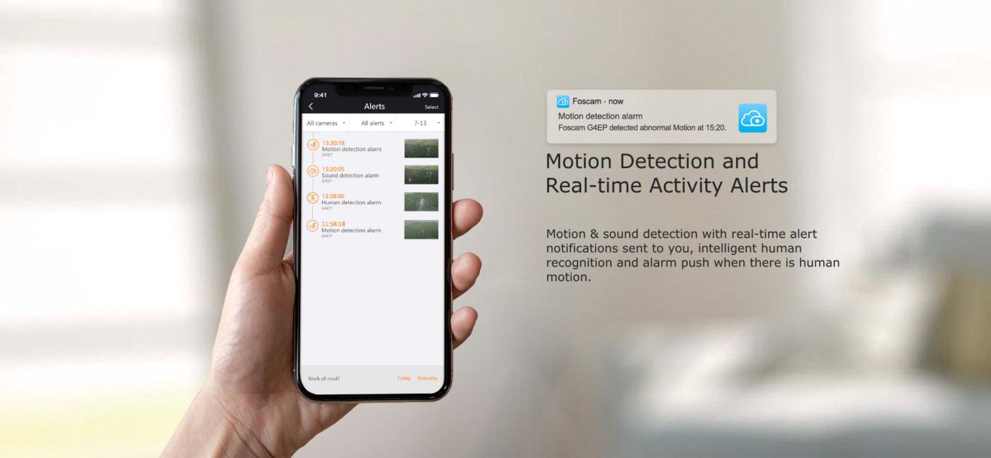 Foscam App Notifications